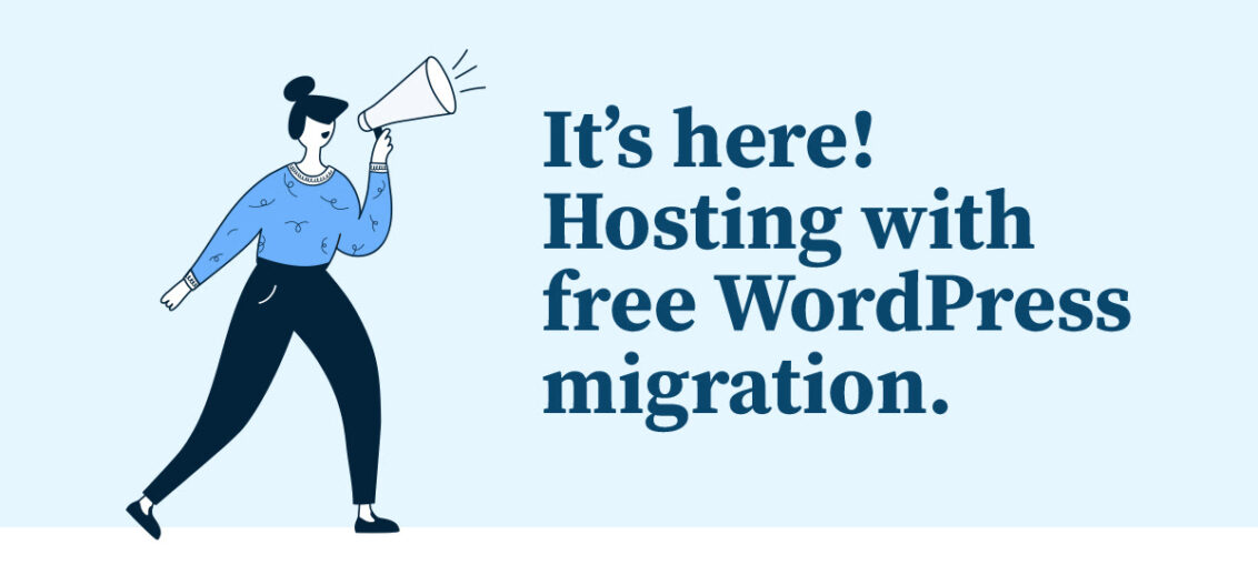 bluehost wordpress free migration